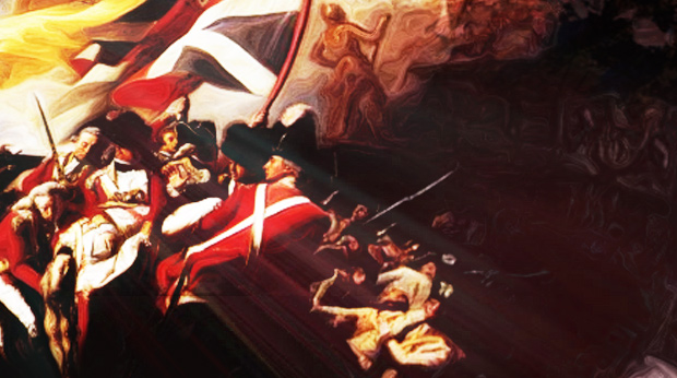 Detail of the Battle of Jersey