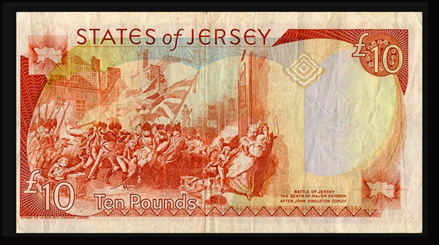 Old Jersey Ten Pound Note