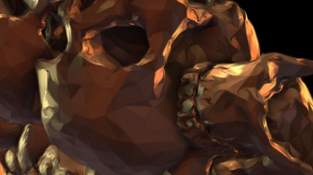 Element 3D skull experiment 05