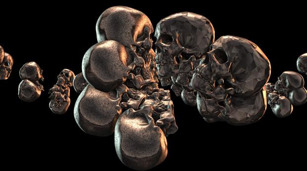 Element 3D skull experiment 07
